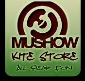 Mushow Kite Store Logo