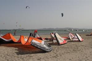 Los Narejos kitebeach