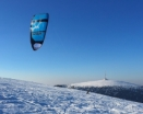 Water & Snow Trip - Snowkiting Praděd Day 1