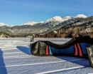 Snowkiting Canada by KHi