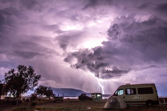 Storm u majáku