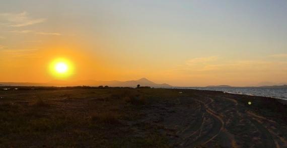 Západ na Oropos