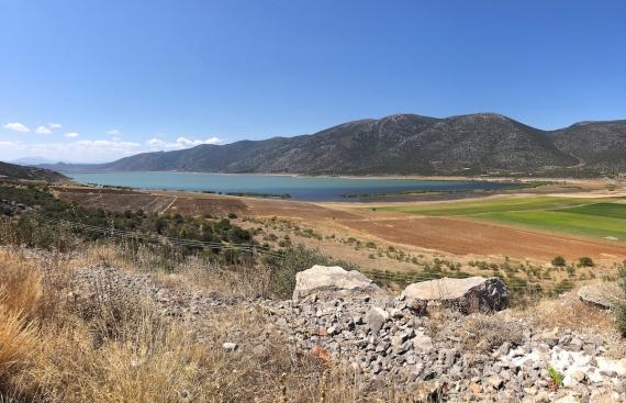 Po cestě z5. Jezero ParaLimni..