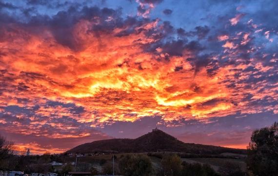 Odpálené nebe nad Pálavou, zázraky se dějí!