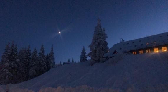 Za tmy dom! Tak zítra snowkiting partičko? :-)