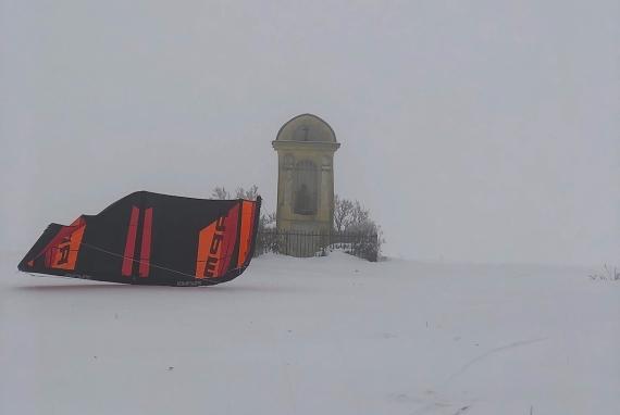 Mlha i v Kněžpoli, hlavně že jsme nezabloudili :-)