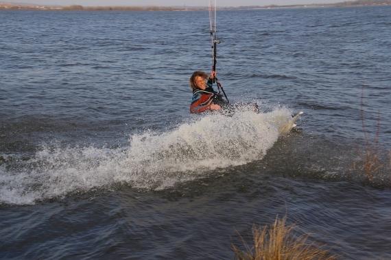 Kárving jde provozovat u břehu, vody dost!