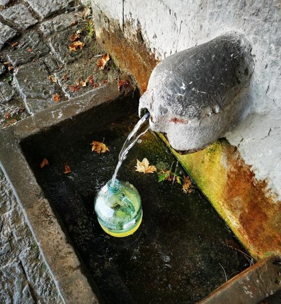 Voda z delfského pramene