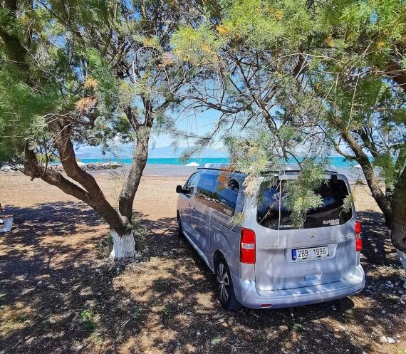Pláž směr Volos