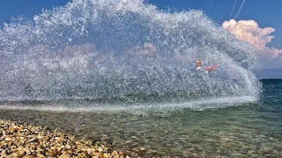 Vodní stěna, kouzla  čáry! :-)
