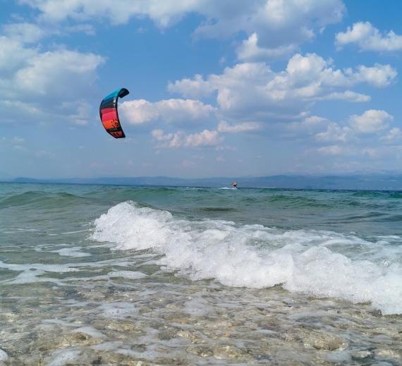 Kiteboarding - koření na cestě životem