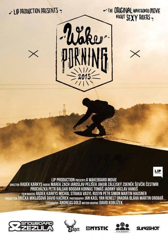 Wakeporning, wakeboarding film roku v ČR a SK
