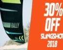 SLINGSHOT RALLY 2018 - 30% OFF!