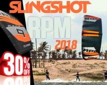 SLINGSHOT RPM 2018 + ráhno - 30% dolů