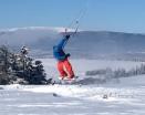 FrontRoll to Blind - na sněhu