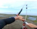 Backcoutry kiteboarding, hlavně se trefit! :-)