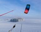 Snowkiting Ryžoviště - sezóna klepe na dveře
