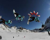 Andreas Toverud na SnowkiteMasters 2012