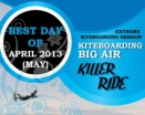KITEBOARDING BIG AIR KILLER RIDE